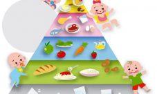 Pirámide alimenticia para niños