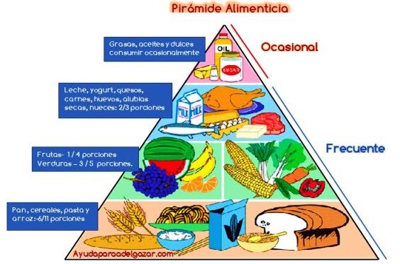 ¿Qué es la pirámide alimenticia?